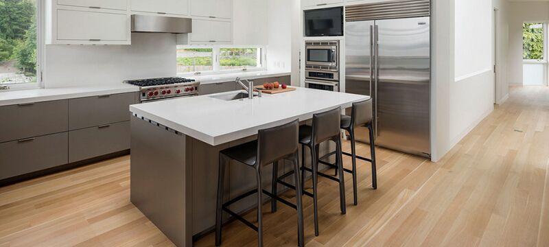 纯白家居大户型欧式厨房装修效果图鉴赏