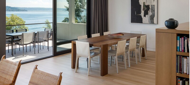 欧式风格别墅型餐厅背景墙装修效果图实例