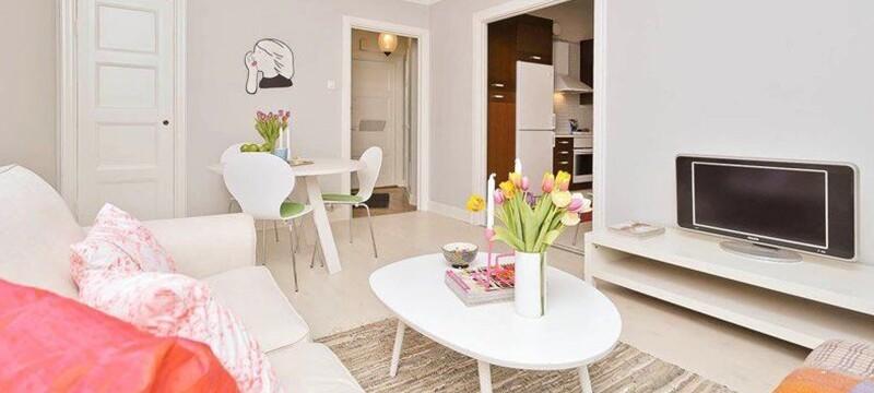 韩式风格小客厅装修效果图欣赏