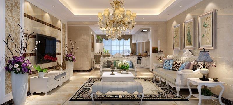 北欧风格,奢华客厅装修效果图