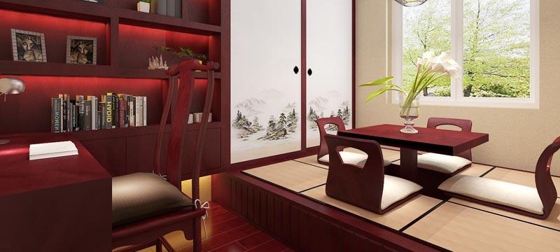 中式风格,榻榻米装修设计