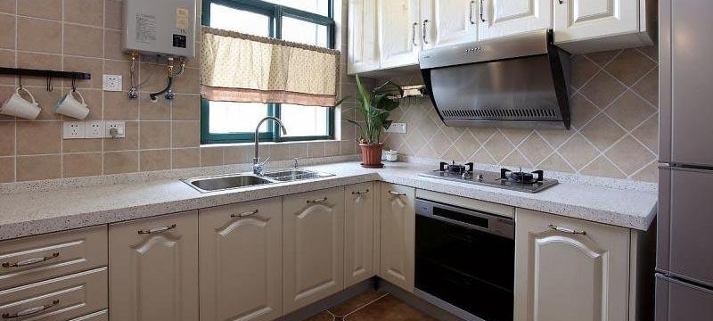 美式风格,厨房装修效果图