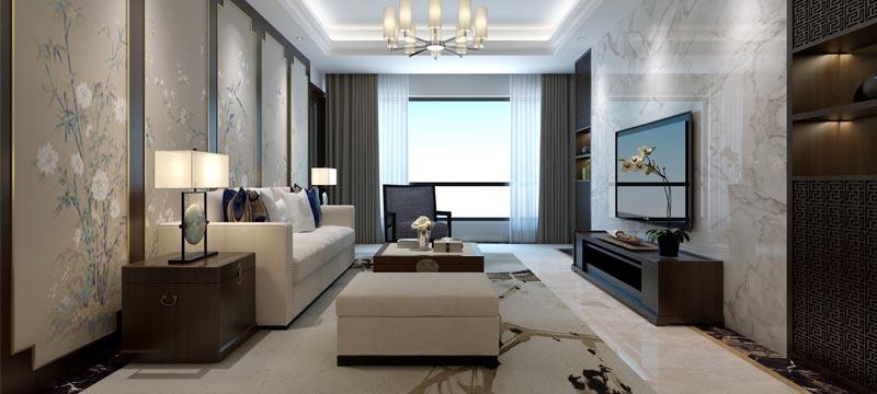 现代简约风格,客厅装修案例展示