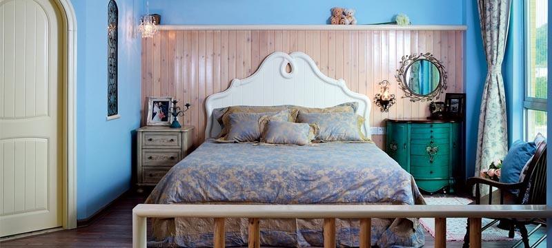 田园风格,卧室案例展示