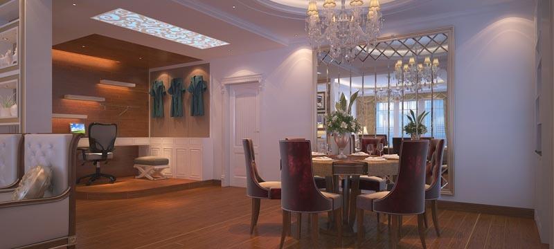 古典风格,餐厅www.lt088.com效果图