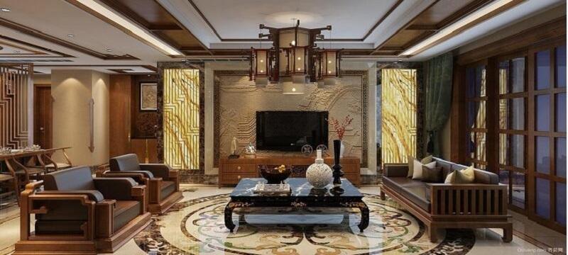 意大利尚庭装饰之古色古香奢华客厅