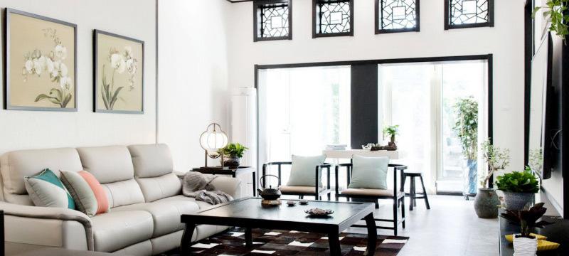 置信铂金湾-中式风格-尚艺装饰
