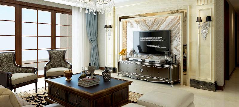 金鹰御龙湾-欧式风格-蓝图装饰