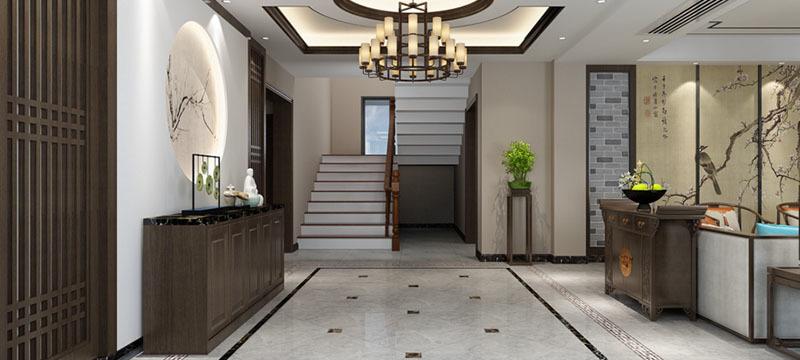 王庄自建别墅-中式风格-常熟凯纳装饰
