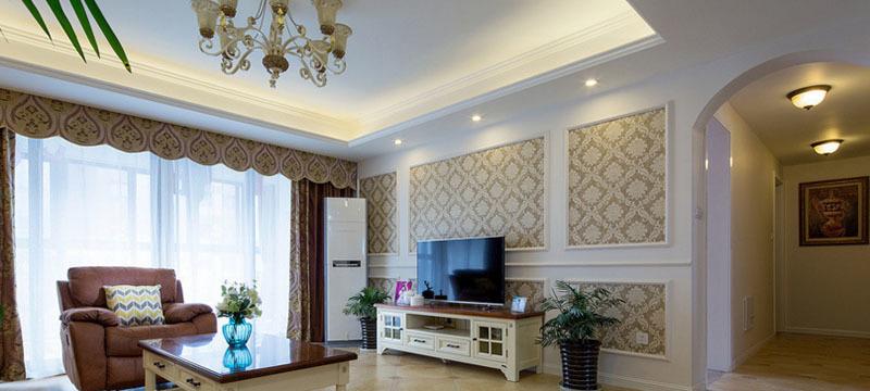 华夏世纪锦园-欧式风格-无锡鸥鼎装饰
