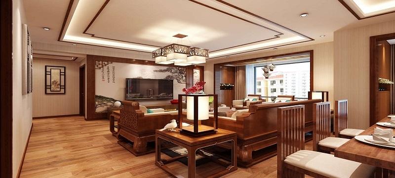 中铁逸都国际-中式风格-海大装饰
