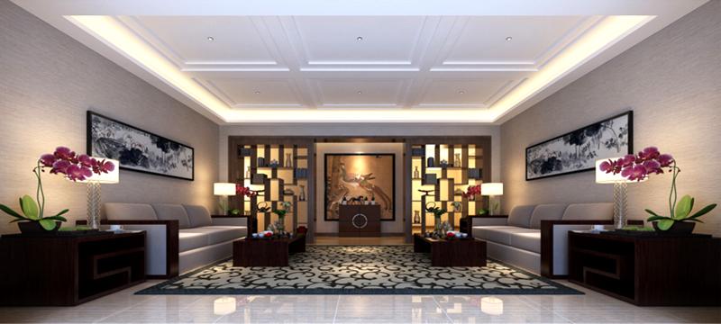 丽景华都-中式风格-纬创装饰