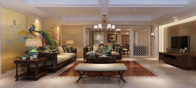 仁和家园-美式风格-开创装饰