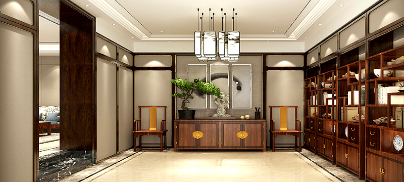 国泰润园-中式风格-科昀装饰