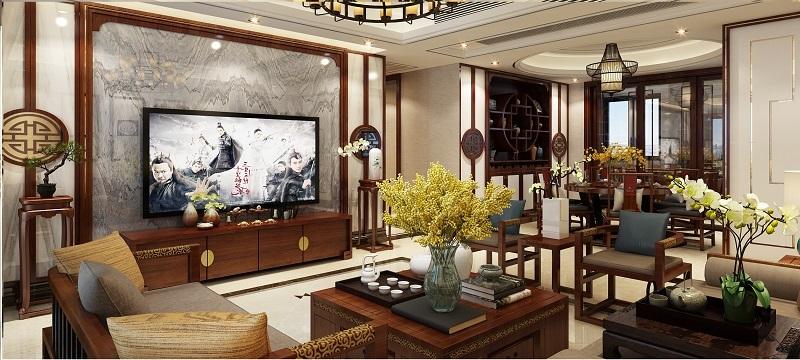 碧桂园中式风格效果图