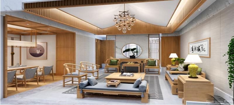 中式风格 客厅设计展示