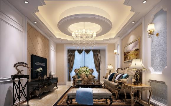 欧式客厅案例风格展示