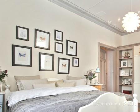 卧室照片墙装修效果图