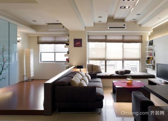 阳光充足的客厅装修效果图