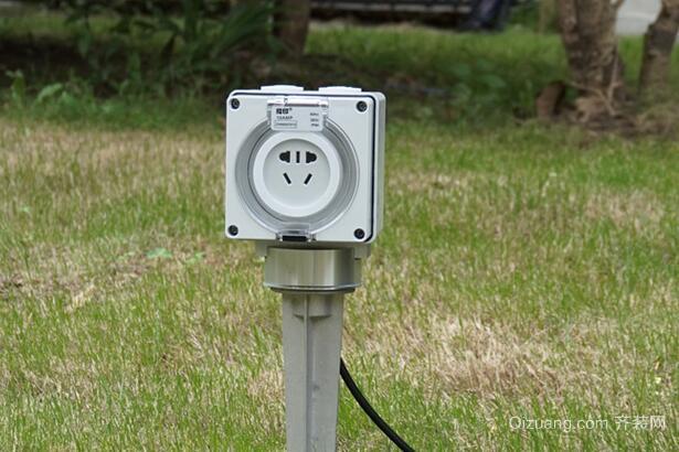 防水插座安装