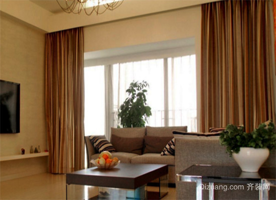窗帘和木地板搭配效果图大全
