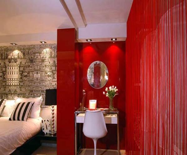 婚房卧室设计图片-国庆婚房装修案例 缔结连理喜上添喜