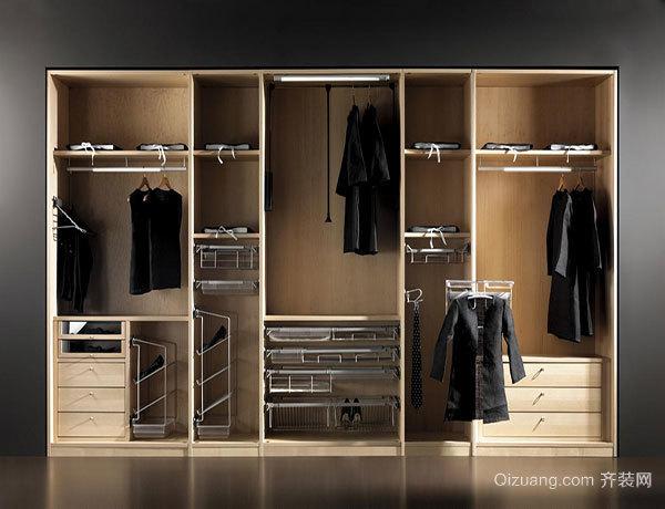 如何合理设计衣柜