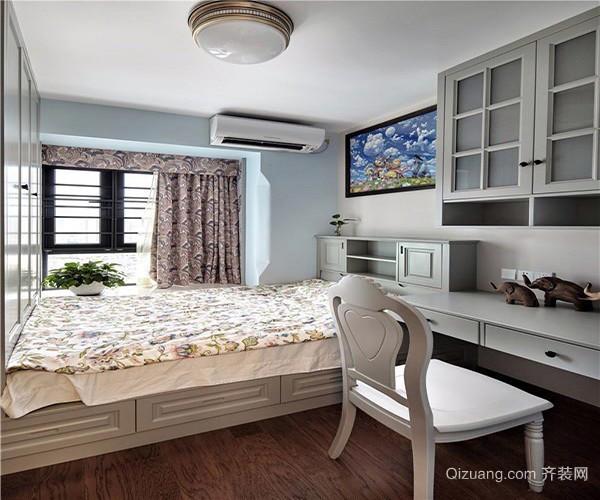 美式风格装修效果图经典案例楼阁变卧室