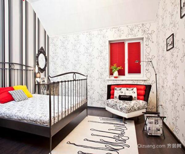美式风格装修效果图经典案例简约的床上用品