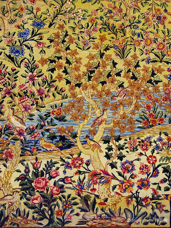 波斯地毯的艺术价值从何处体现