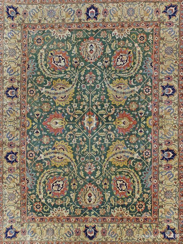 波斯地毯的艺术价值体现