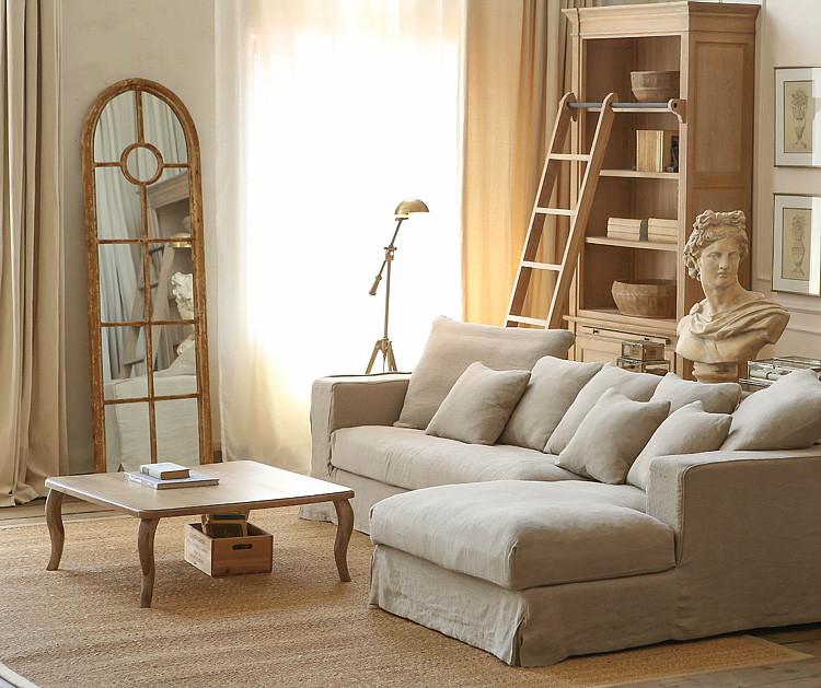 曲美橡木家具