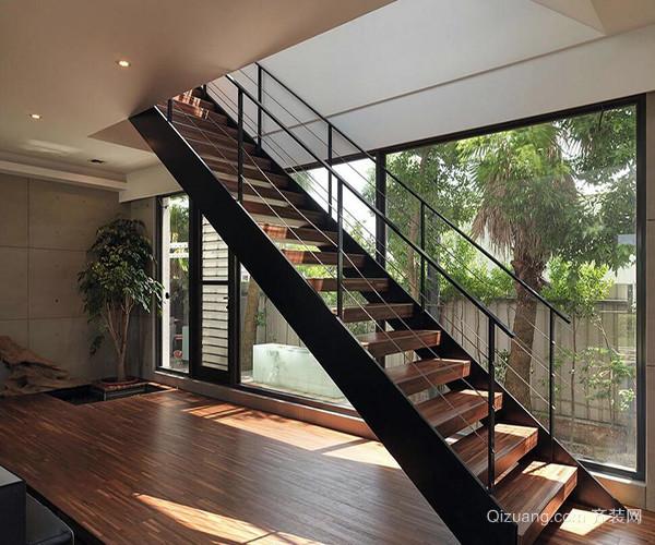 新古典别墅楼梯装修效果图赏析