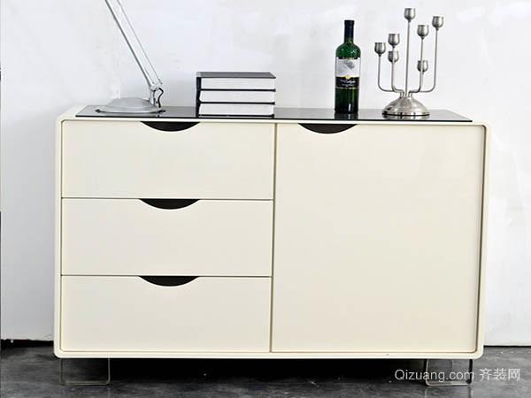 米白色不锈钢碗柜