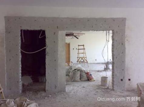 承重墙墙体改良操作方法