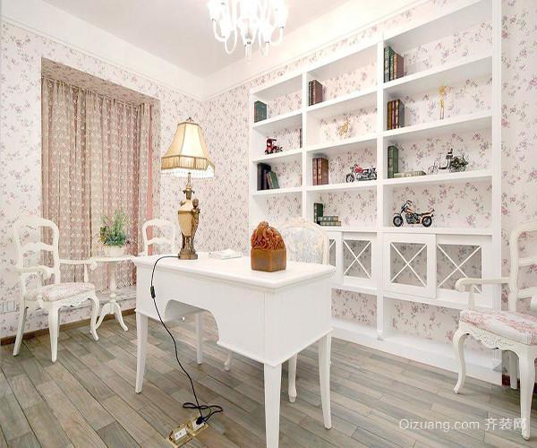 白色卧室田园风格
