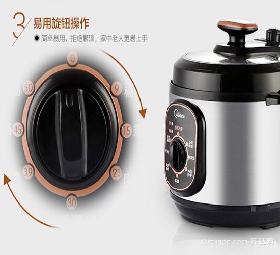 九阳电压力锅使用方法