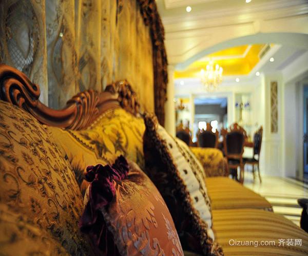 欧式古典家具沙发吊灯