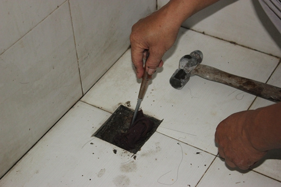 地漏安装步骤6