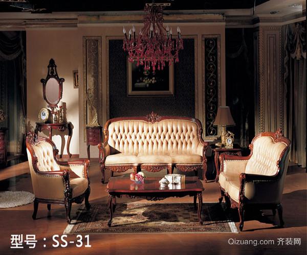欧式风格古典家具的特点