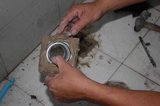 地漏安装步骤10