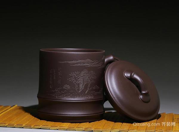 荆邑紫砂杯