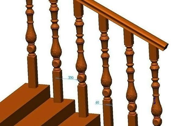 木扶手安装方法