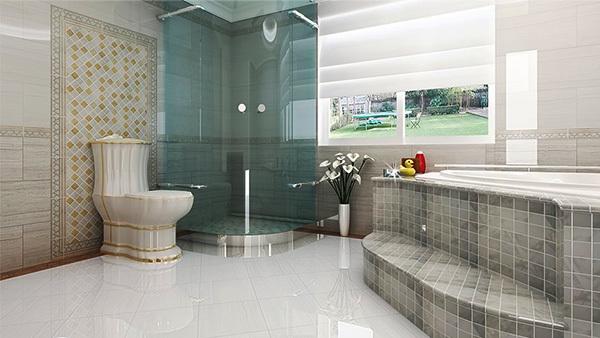 卫生间全抛釉瓷砖