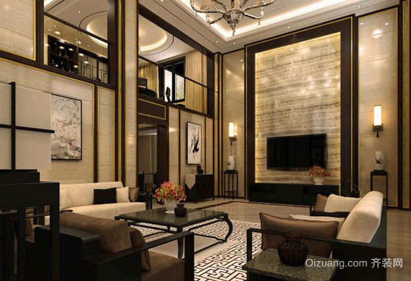 苏州金翅鸟装饰工程有限公司客厅设计