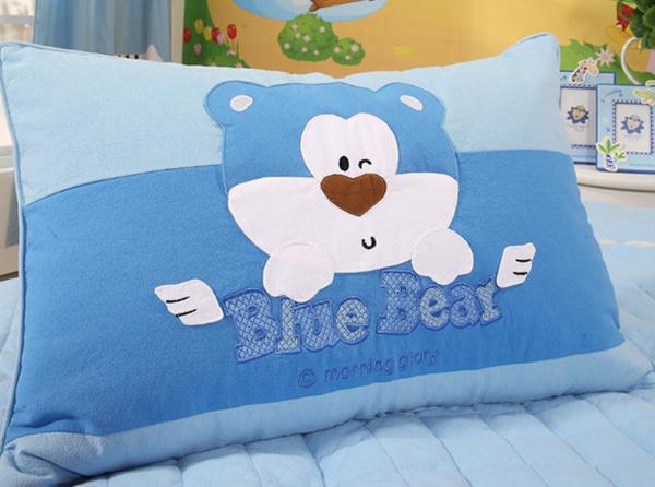 蓝丝羽儿童枕头