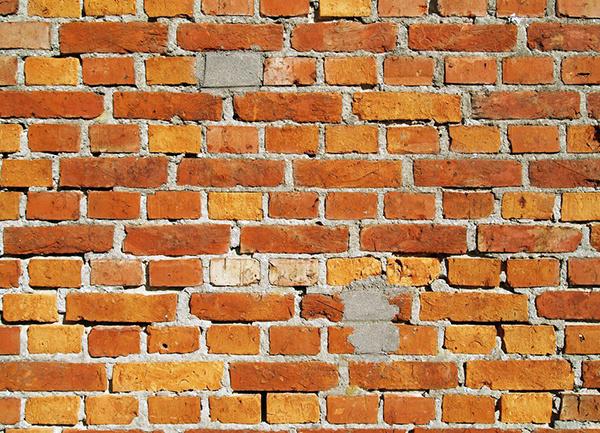 红砖墙墙面