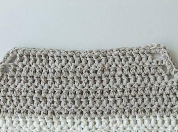 手工编织地垫产品