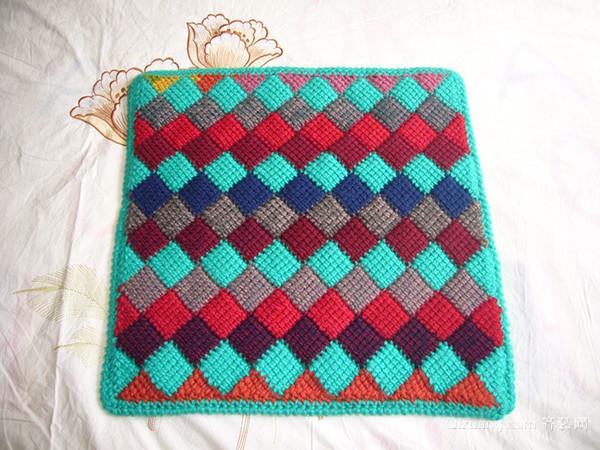 手工编织地垫款式