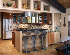 开放式厨房优缺点 开放式厨房效果图